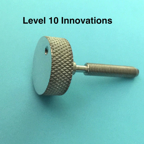 Powder/Shot Measurer Adjustment Screws with Knurled Knobs for Dillon Equipment