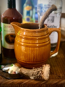 Vintage Barrel Pitcher