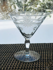 Vintage Petit Martini Glasses - Set 4
