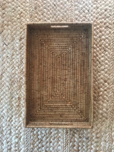 Rattan Rectangle Tray