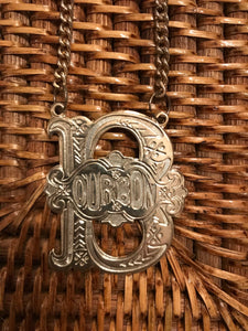 Vintage Decanter Tags - Set 5