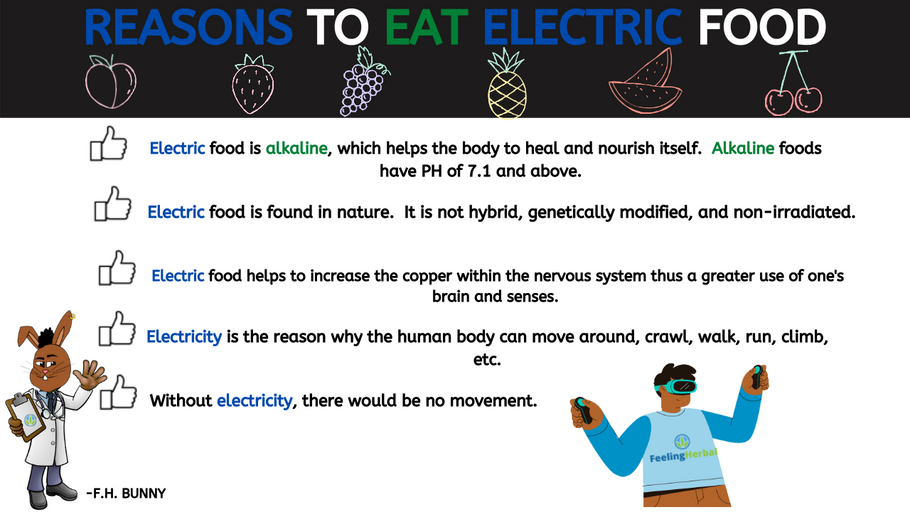Reasons to Eat Electric Food