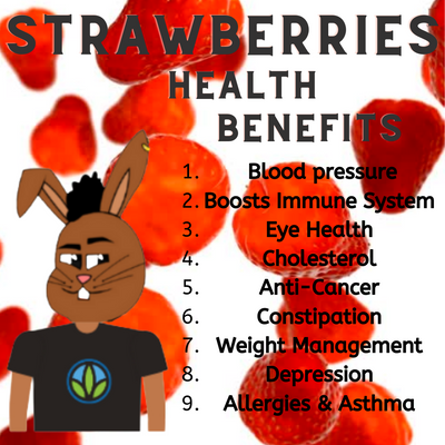 Strawberry Sea Moss Gel Benefits