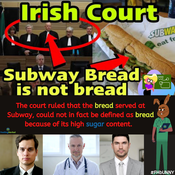 Subway Bread Is Not Bread