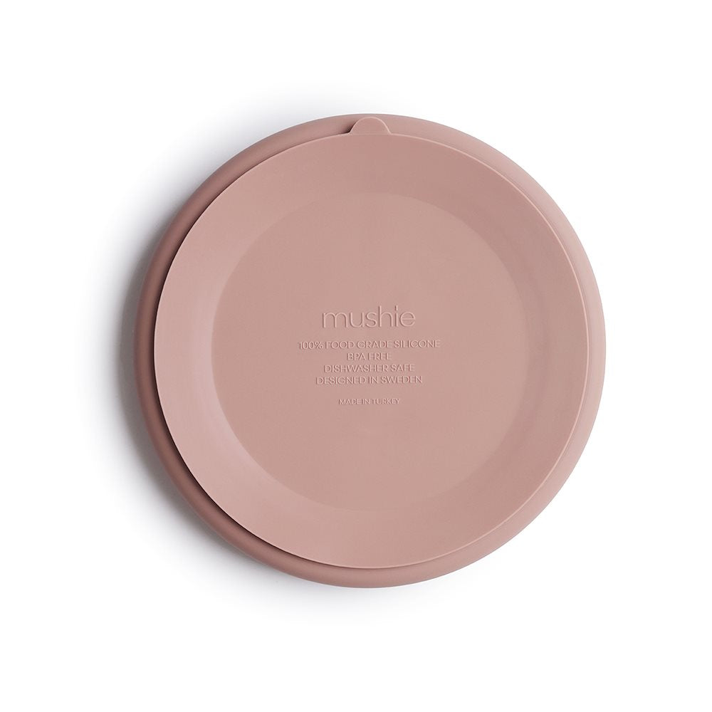 Blush Silicone Suction Plate
