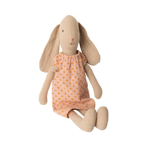 Maileg Bunny Soft Toy in Rose Nightgown