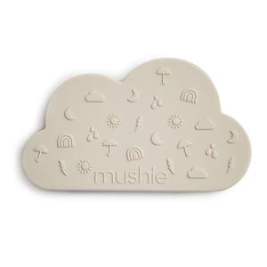 Mushie Teether Cloud - Gray