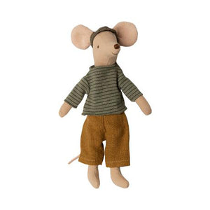 Maileg Dad Mouse soft toy