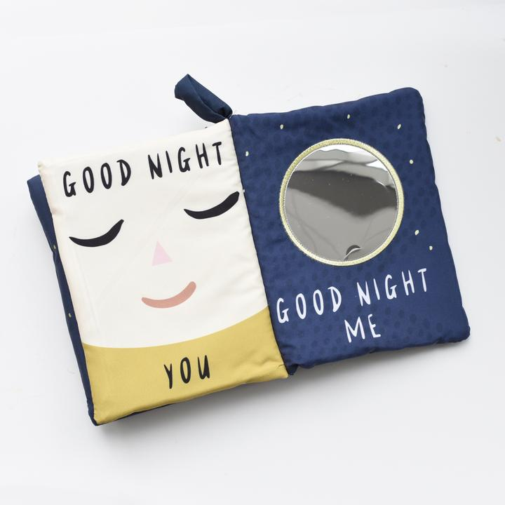 Wee Gallery Soft Cloth Book - Good Night Yo