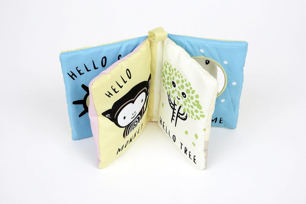 Wee Gallery Soft Cloth Book - Hello You