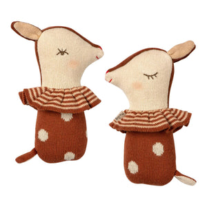 Maileg Bambi Rattle Soft Toy