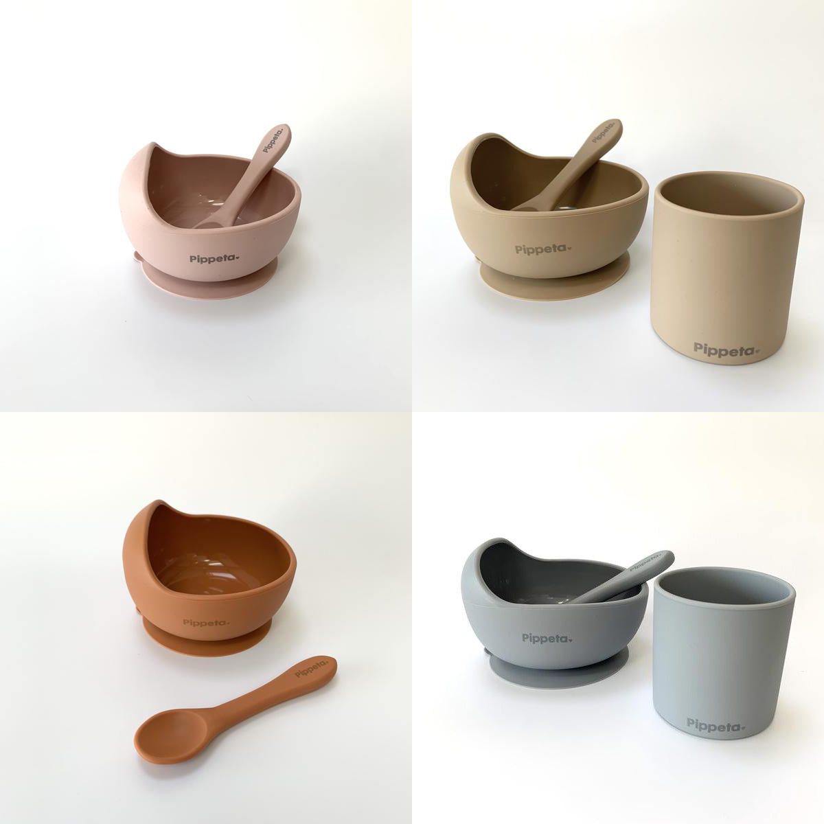 Pipetta Suction Bowl and Spoons