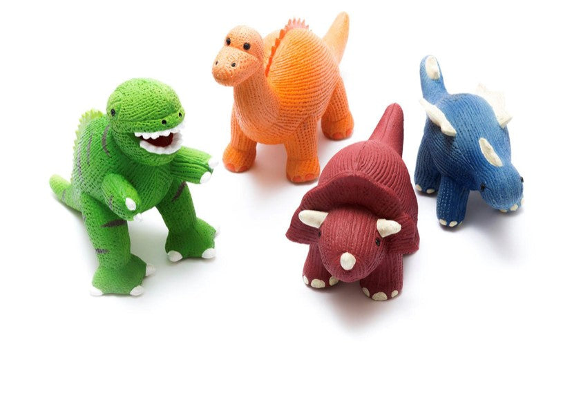 T-Rex Natural Rubber Bath Toy and Teether