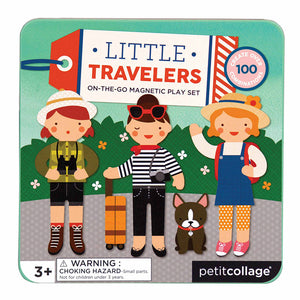 Petit Collage Little Travelers on the go Magnetic Play Set