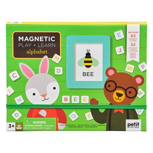 petit Collage - Magnetic Play and Learn Alphabet