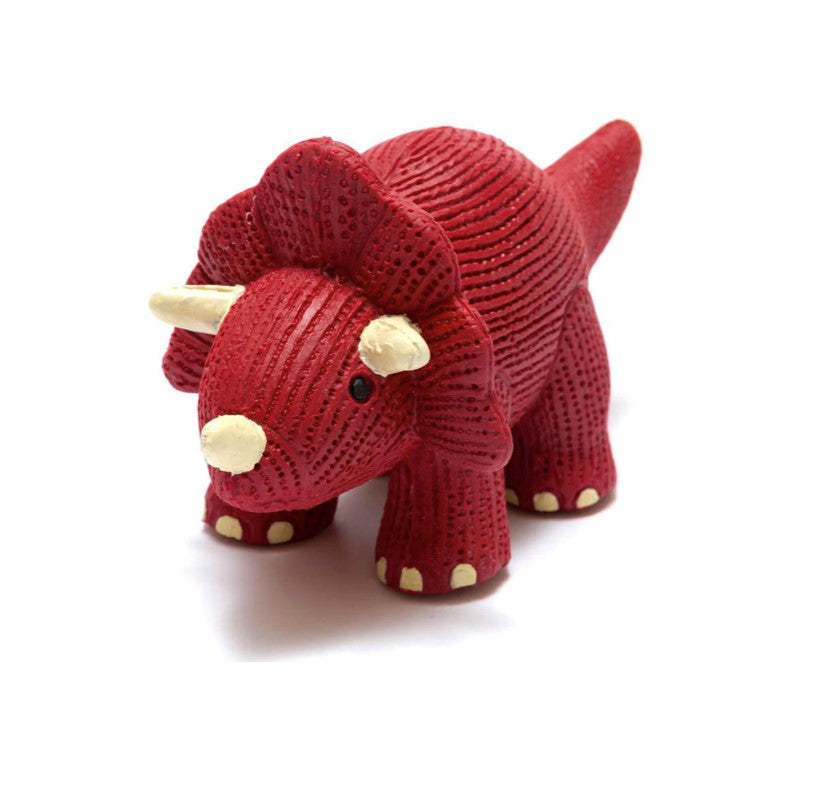 Triceratops Teether and Bath Toy
