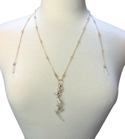 M-Style Icicles in Sunlight Necklace
