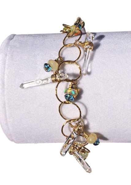 Icicles in Sunlight Bracelet
