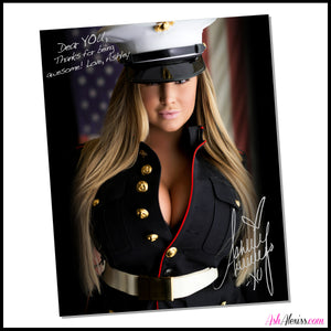 Autographed Military Print #002