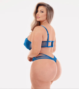 Ashley's Personal Blue Lingerie Teddy