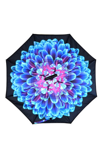 Inside Out Floral Umbrellas