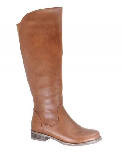 Gorgeous Vegan Leather Tall Taxi Boot