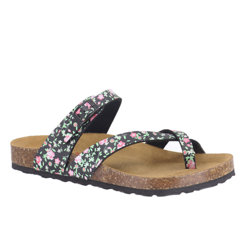 Wild Flowers Cross Over Comfort Sandal