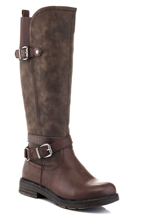 Rosa Vegan Leather Tall Boot by Extreme