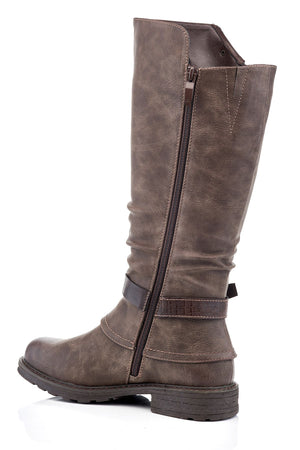 Carisma Vegan Leather Tall Boot