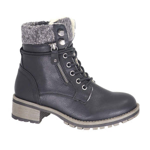 Kennedy Vegan Leather Short Taxi Boot