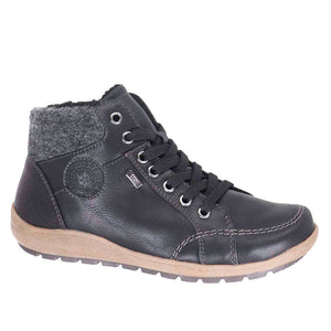 Landy Lace Front Vegan Leather Walking Taxi Boot