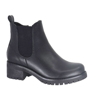 Lexi Vegan Leather Short Taxi Boot