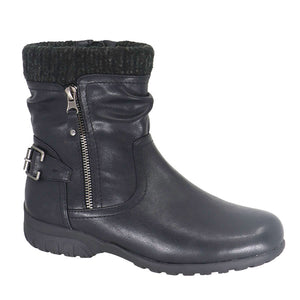 Whistler Vegan Leather Waterproof Short Boot by Taxi
