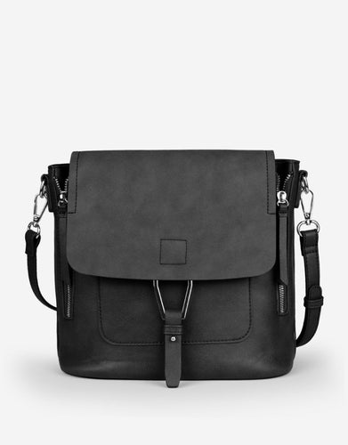 Pinnacle Vegan Leather 2-Way Handbag