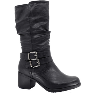 Sloan Midcalf Black Boot by Taxi