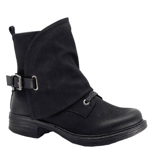 Utah Single Buckle Short Boot by Taxi