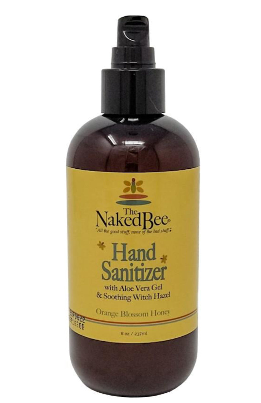 The Naked Bee Hand Sanitizer  - Orange Blossom and Honey 8oz