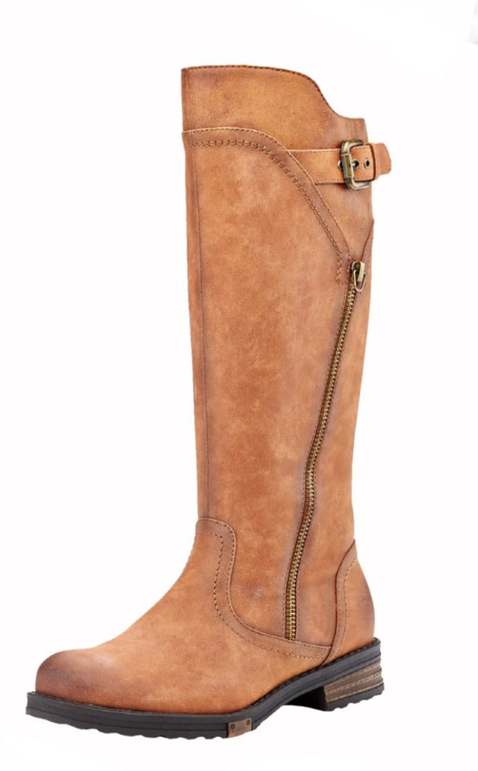 Yvonne Regular Calf Tan Boot by Extreme