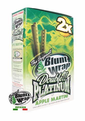 Blunt Wrap 2X Apple Martini