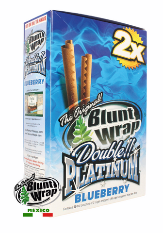 Blunt Wrap 2X Blueberry
