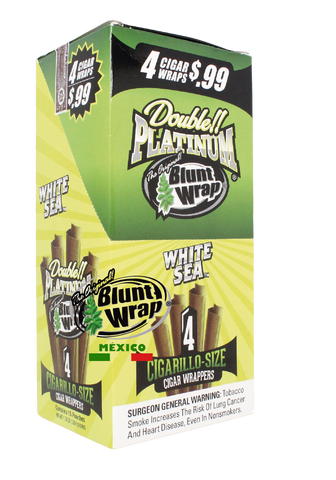 Blunt Wrap 4X White Sea