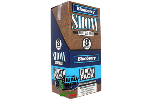 Flat Wrap Show BlueBerry