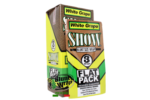 Flat Wrap Show White Grape