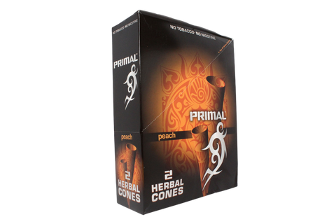 Primal Herbal Conos Peach