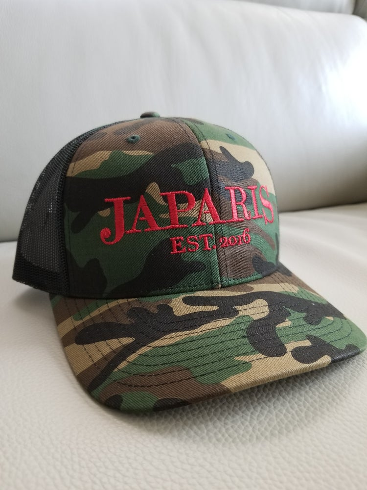 ARMY FATIGUE TRUCKER HAT