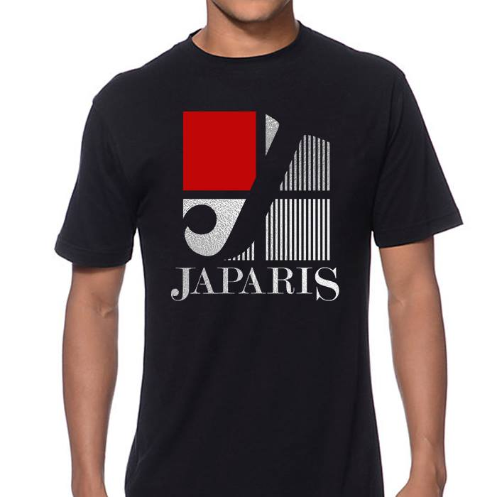 JAPARIS ART DESIGN T-SHIRT