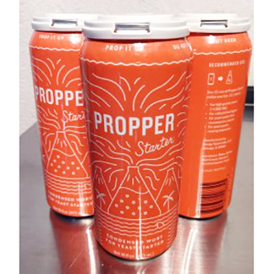 Hands on Review: Propper Starter Canned Starter Wort!