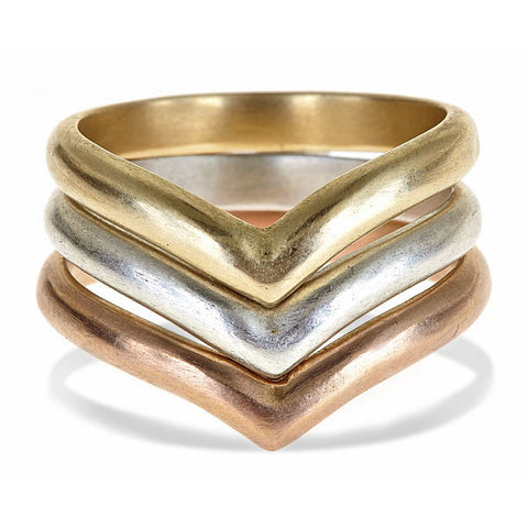 Arrow stack ring set