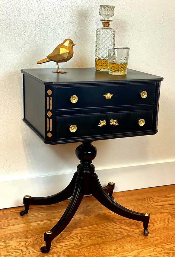 Majestic Monegasque mini bar/end/accent table