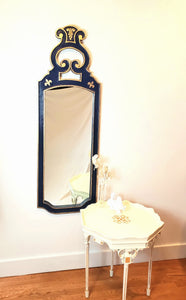 Navy Blue Classical Mirror